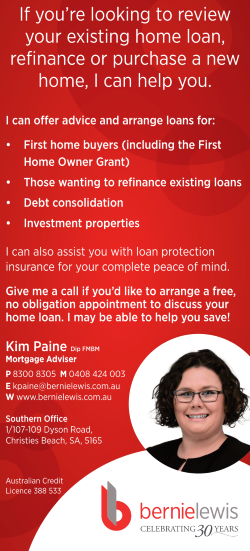 Kim Paine - Bernie Lewis - Mortgage Broker