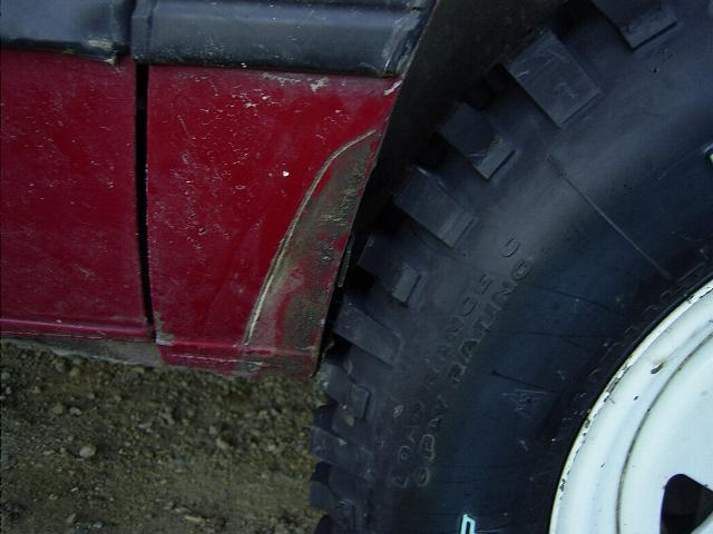"Stock fenders, 2"" lift kit and 27"" tyres don't work. Fender trimming a Subaru Brat or Brumby"