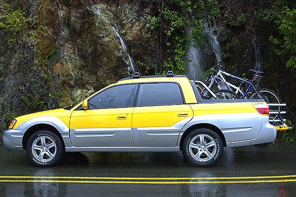 The Subaru Baja Is Basically An Outback Wagon With Open Rear Cargo Bed Outbacks And Have A Raised Suspension Suv Flavored Styling