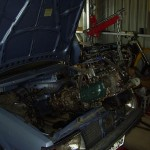 83sedan_enginegoingin