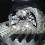 Welded rear diff for Subaru