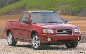Subaru Forester pickup